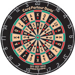 Card Parlour Poker Dart Board